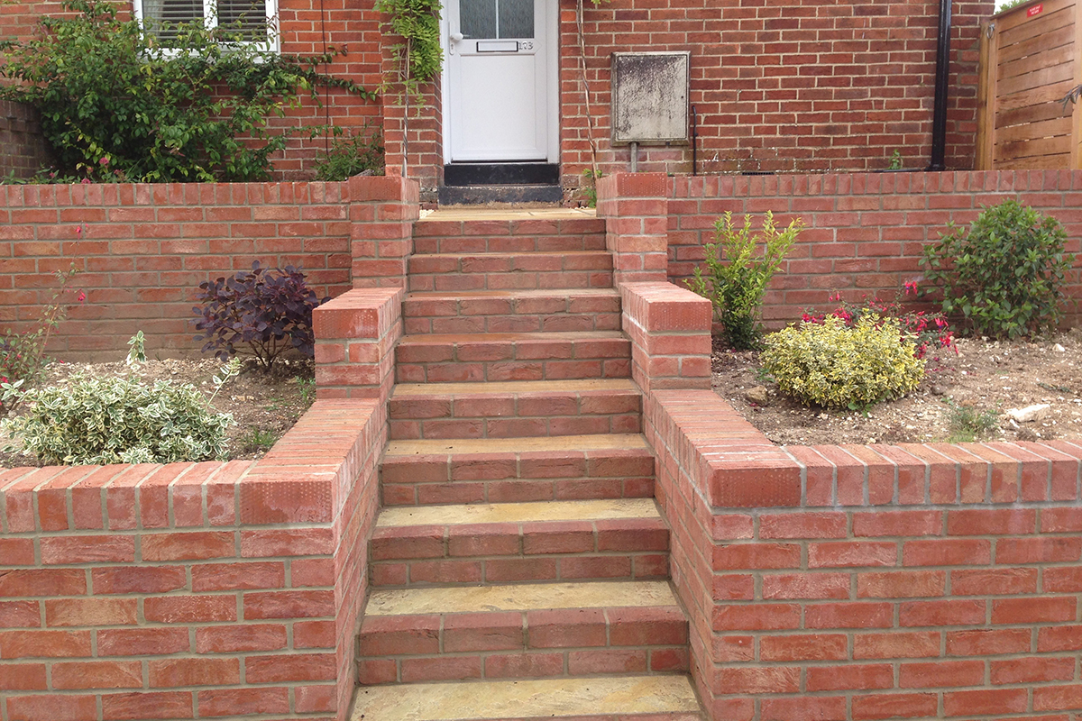 Brickwork To Front Of House