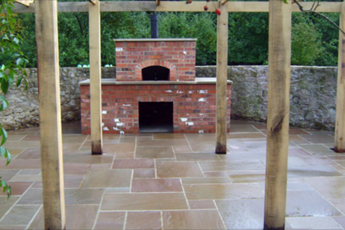 Patio For BBQ